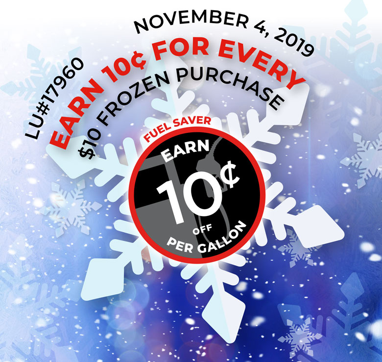 1-Day Frozen Sale - November 4, 2019