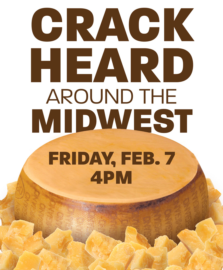 Crack Heard Around the Midwest - Feb 7