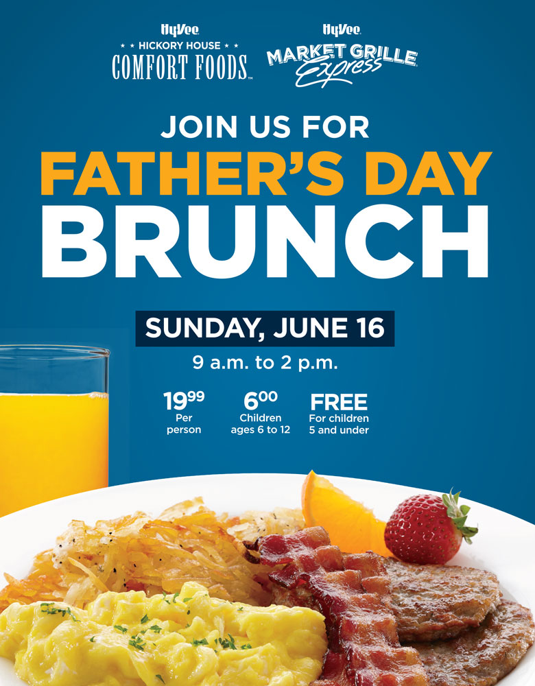 Father's Day Brunch - May 16