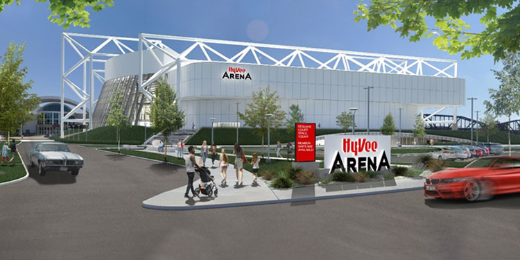 Iconic Kansas City Venue Named Hy-Vee Arena