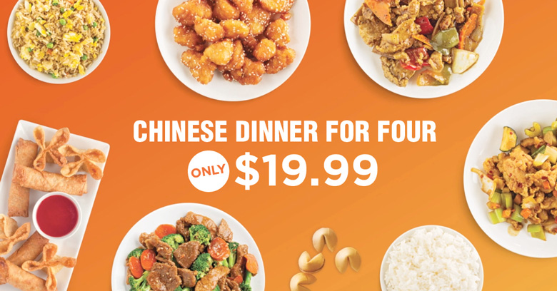 HyChi Dinner for Four - $19.99