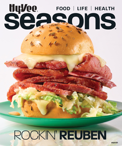 Seasons Magazine cover March 2021