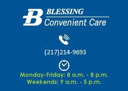 Blessing Covenient Care Banner