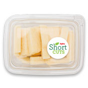 jicama sticks in a plastic container
