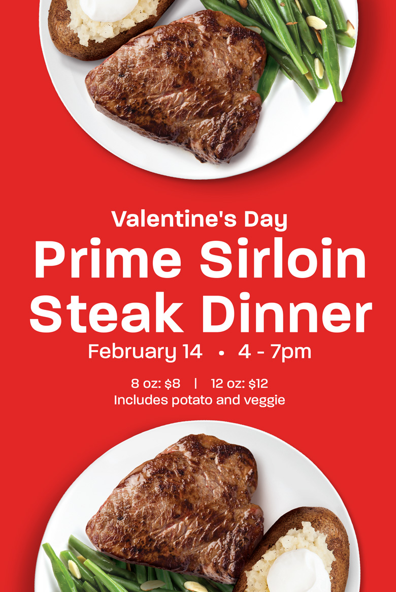 Steak Dinner - Feb 14, 2020