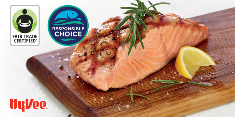 Hy-Vee Offers Wildfish Fair Trade Certified Salmon in All Stores