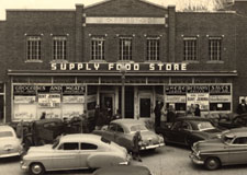 Bethany Missouri Supply Store in the 1940s