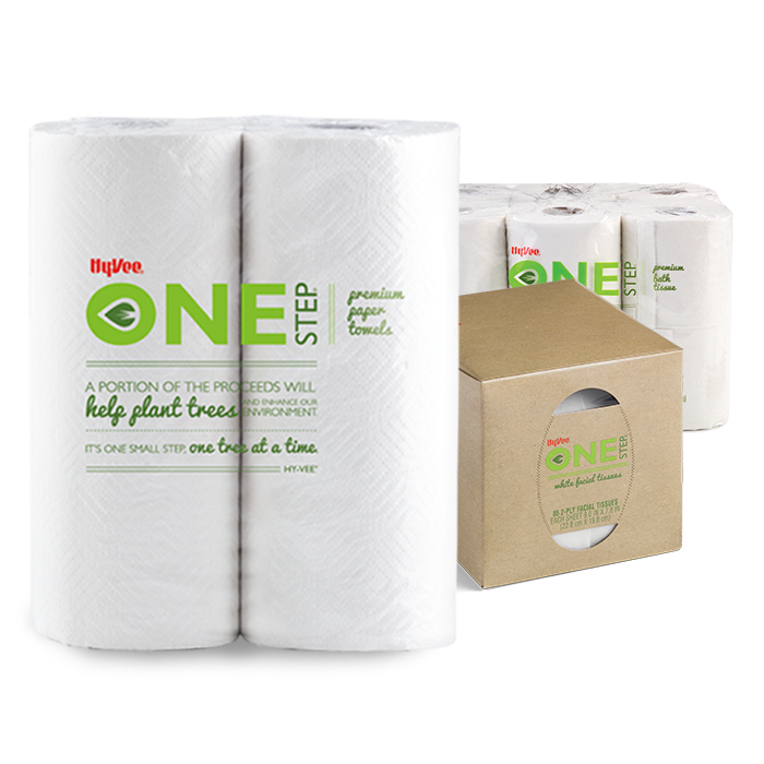 One Step Paper Towels